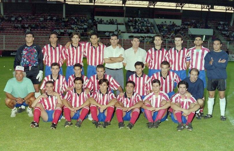 C.P. Almería :: Plantilla Temporada 1994/1995 ::