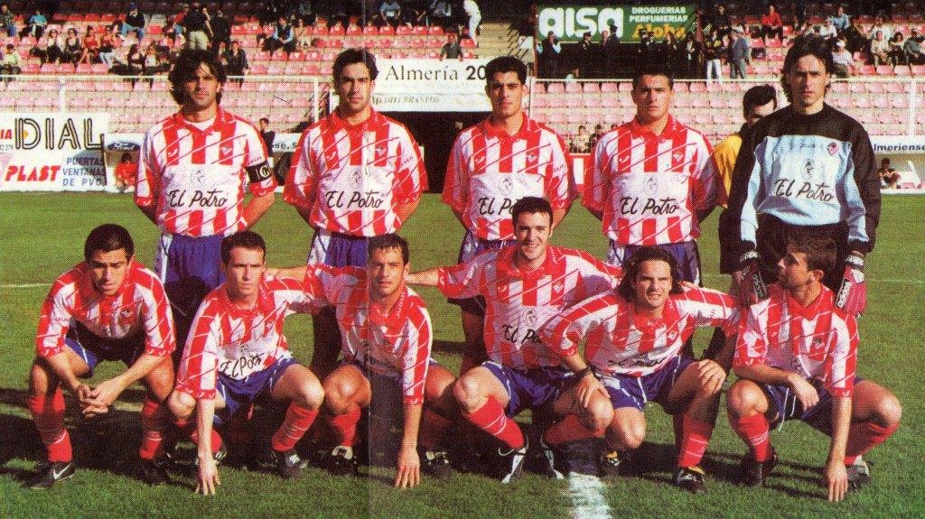 C.P. Almería :: Plantilla Temporada 1999/2000 ::
