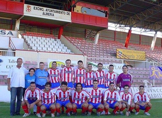C.P. Almería :: Plantilla Temporada 2005/2006 ::