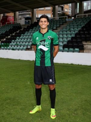 Cristian Salvador (Real Sporting ) - 2015/2016